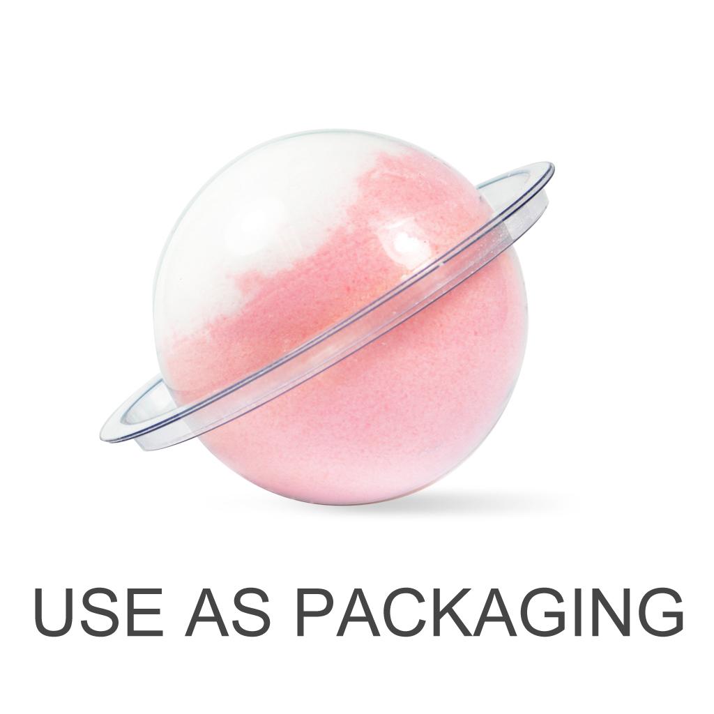 Milky Way Bath Bomb Ball Mold 1 75 Quot Diameter 2 Pc Set